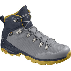 Salomon M's Outback 500 GTX Shoes Quiet Shade/Navy Blazer/Green Sulphur